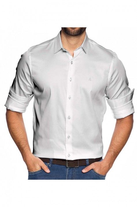Camisa Fundamental Slim Branca